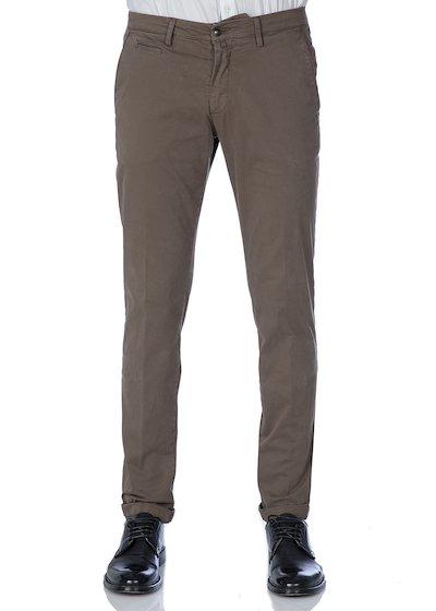Pantalone tasca america con profilo in raso