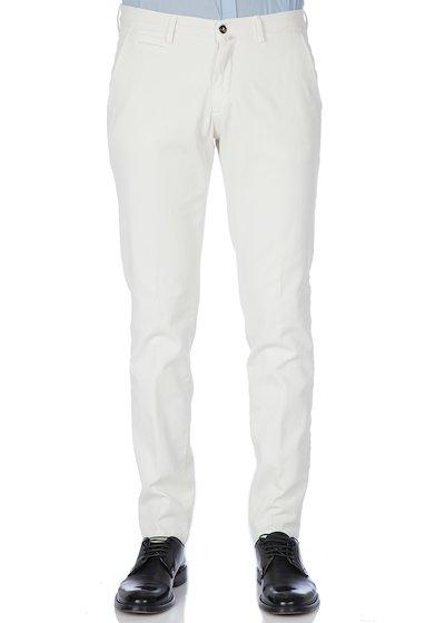 Pantalone tasca america con profilo effetto vintage