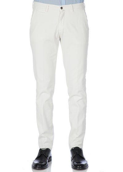 Bull comfort vintage effect slash pocket trousers