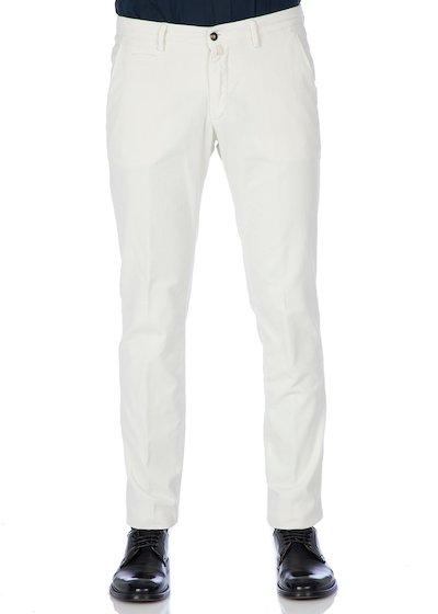 Pantalone tasca america con profilo in velluto rocciatore