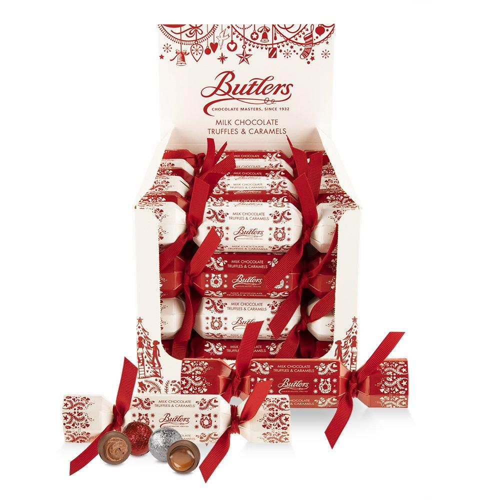 Butlers 2 Chocolate Mini Christmas Crackers