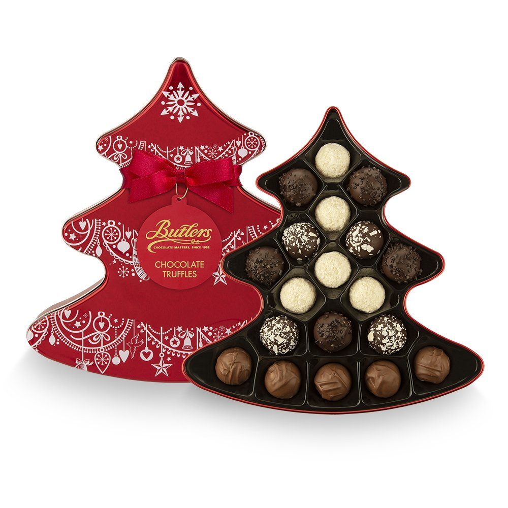 Christmas Tree Assortment Tin