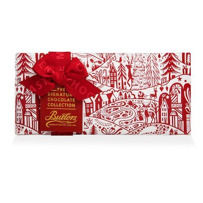Butlers Small Gift wrapped Signature Christmas Assortment, with 9 Chocolates