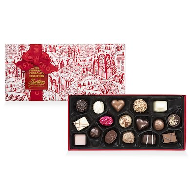 Butlers Medium Gift wrapped Signature Christmas Assortment, with 18 Chocolates