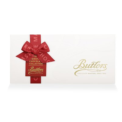 Butlers Medium Embossed Signature Christmas Assortment, with 18 Chocolates