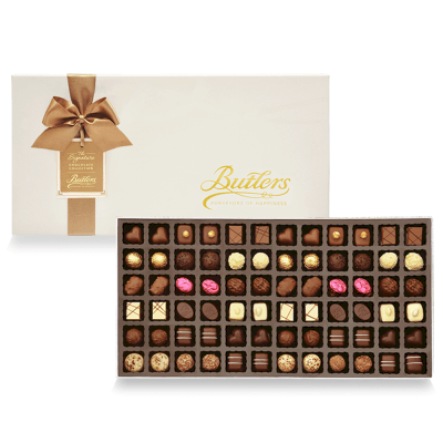 Deluxe Presentation Box, with 72 Chocolates