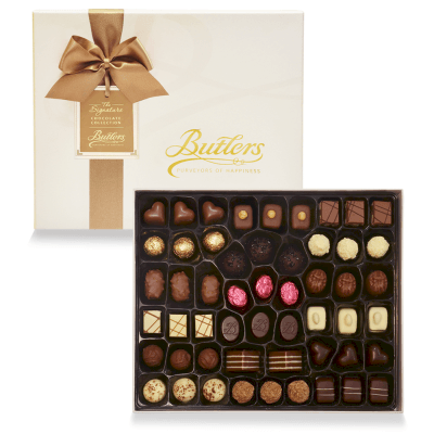 Butlers Deluxe Presentation Box, with 53 Chocolates