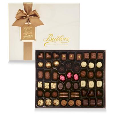 Deluxe Presentation Box, with 53 Chocolates