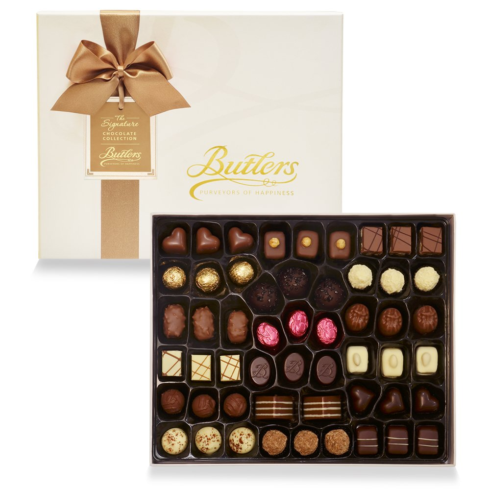 Deluxe Presentation Box, with 53 Chocolates