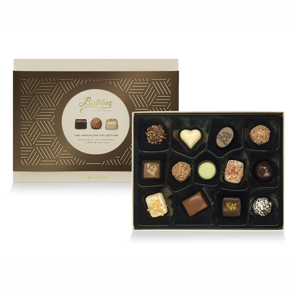 Medium Chocolate Collection, with 13 Chocolates