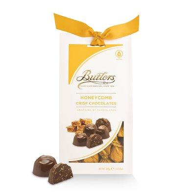 300g Milk Honeycomb Crisp Chocolates
