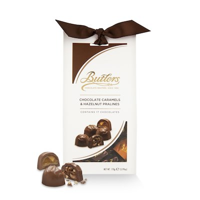 Chocolate Caramels and Hazelnut Pralines