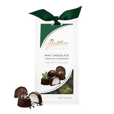 Butlers Mint Chocolate Truffles