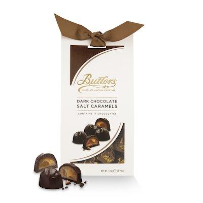 Dark Chocolate Salt Caramels