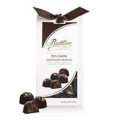 Butlers 70% Dark Chocolate Truffle Twist wraps