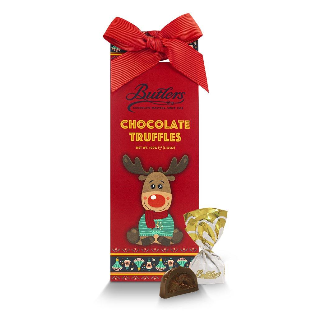 Reindeer Milk Chocolate Truffles