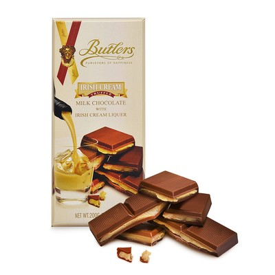 Butlers Irish Cream Liqueur Truffle Bar