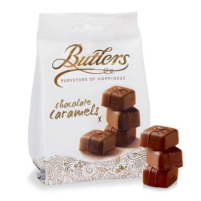 Milk Chocolate Caramels Bag (x6)