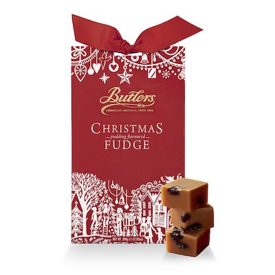 Christmas Fudge Box