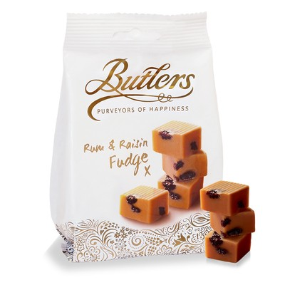 Rum and Raisin Fudge Bag