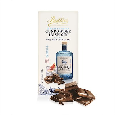 Drumshanbo Gunpowder Irish Gin® flavoured Chocolate Bar x 4