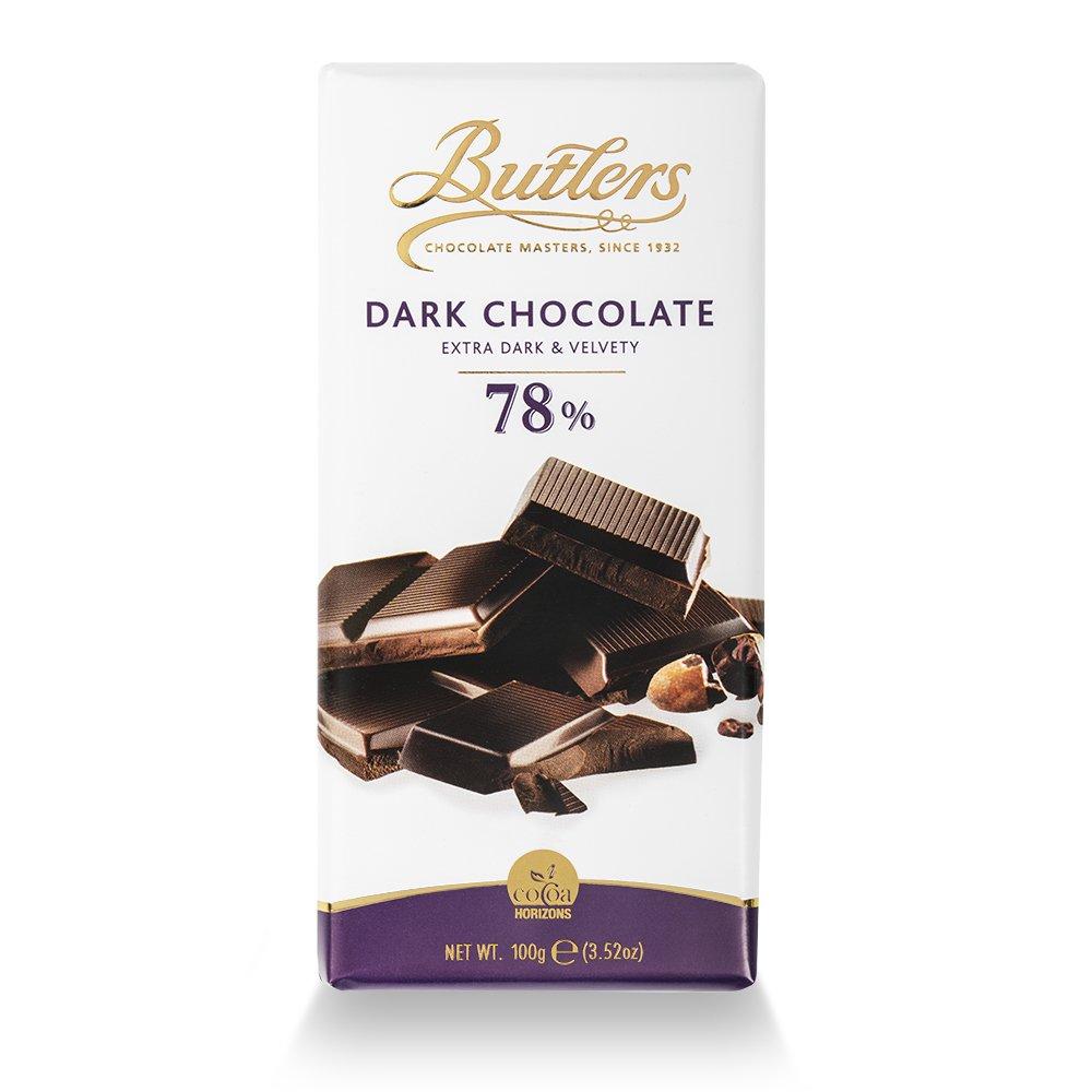 78% Gourmet Dark Chocolate Bar x 6