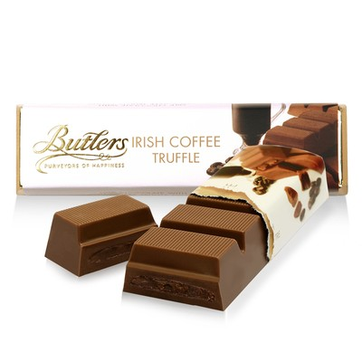 Milk Chocolate Irish Coffee Truffle Bar, Pack of 12 Bars