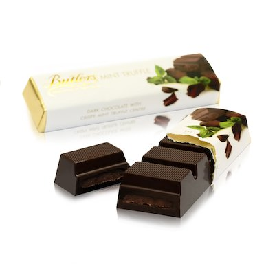 Mint Chocolate Truffle Bar x 6