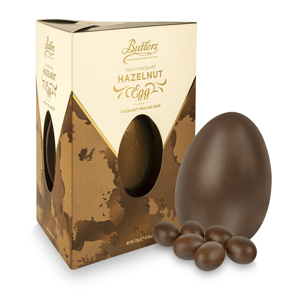 Milk Chocolate Hazelnut Egg