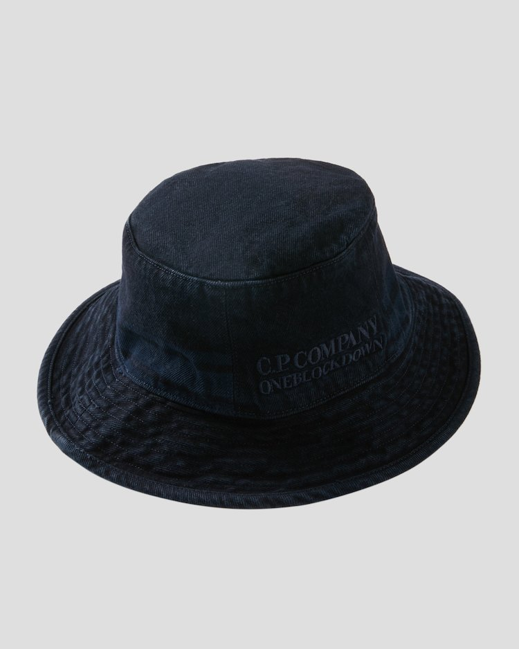 Denim 14 3/4 OZ Bucket Hat in Blue Denim