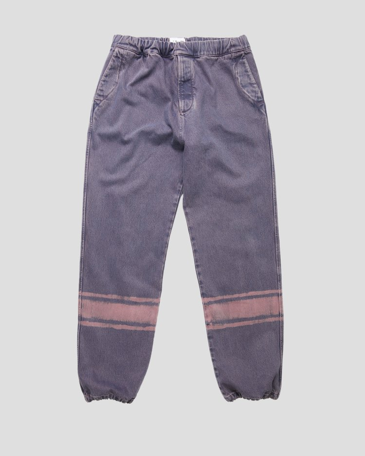 Denim 14 3/4 OZ Pants in Pink Overdyed Denim