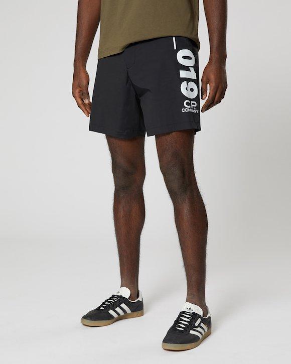 Nycra Swim Short in Black