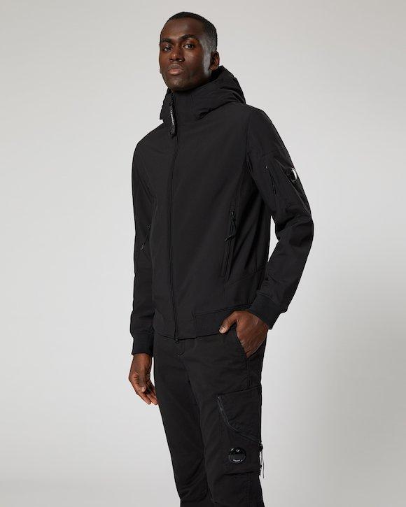 C.P. Shell Lens Jacket in Black