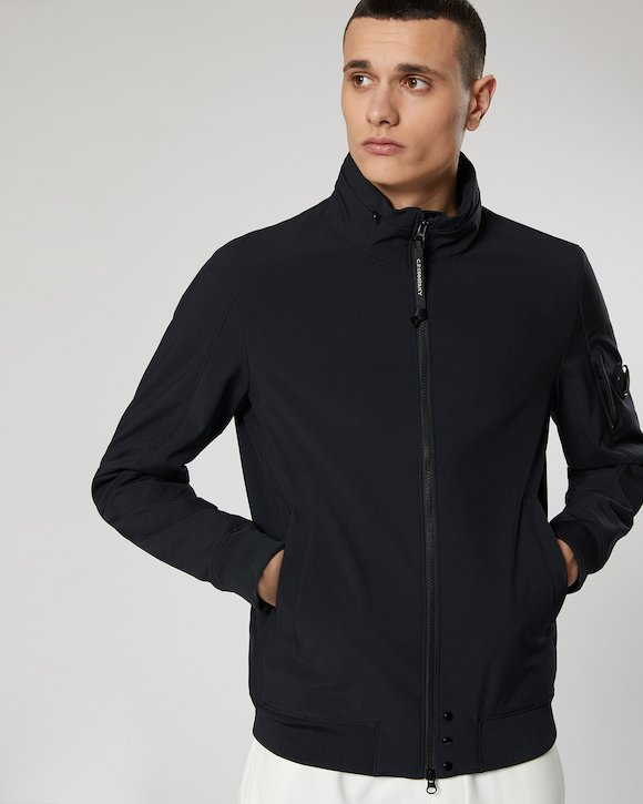 C.P. Shell Lens Jacket in Total Eclipse