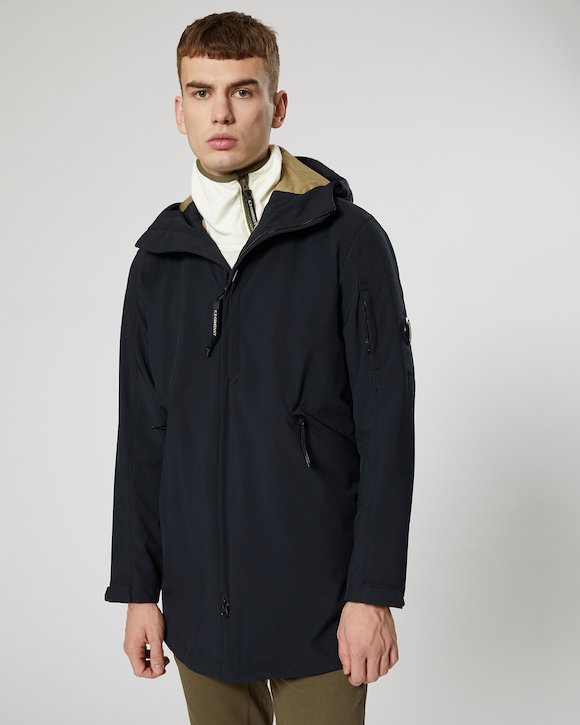 C.P. Shell Lens Parka in Total Eclipse