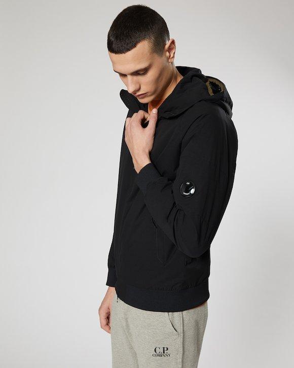 Pro-Tek Hooded Lens Jacket in Black