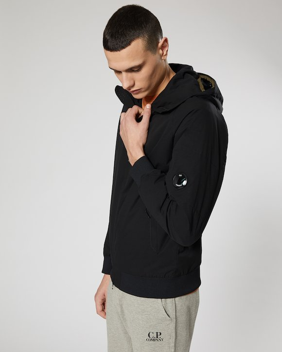 Pro-Tek Hooded Lens Jacket in Black