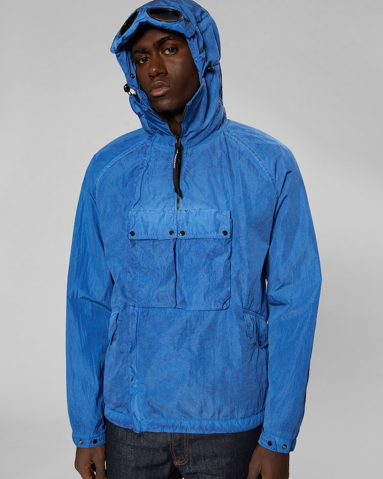 Chrome Re-Colour Goggle Jacket in Dutch Blue