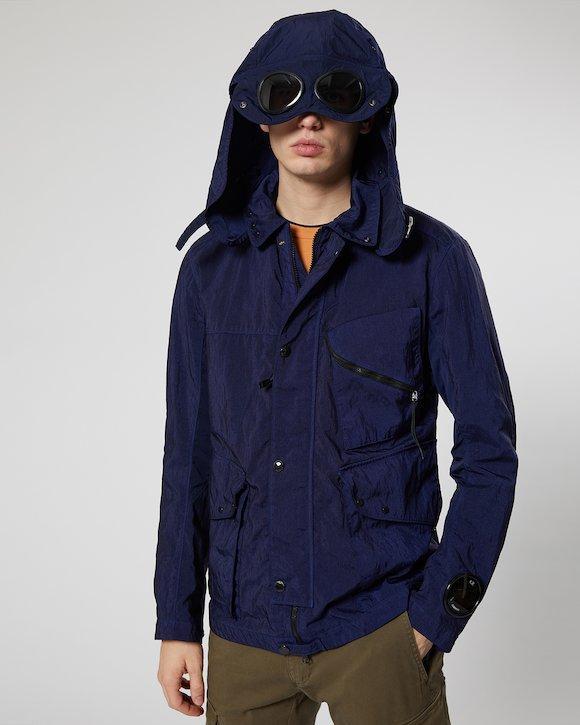 Quartz Goggle Jacket in Estate Blue