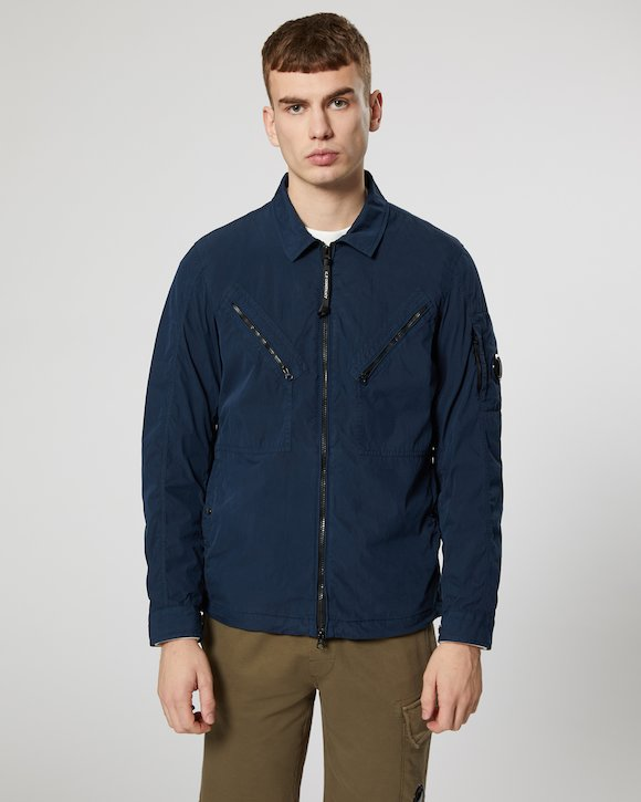 50 Fili Lens Overshirt in Total Eclipse