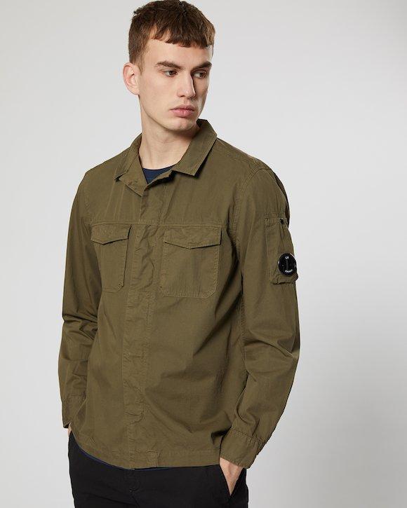 Gabardine Shirt in Beech