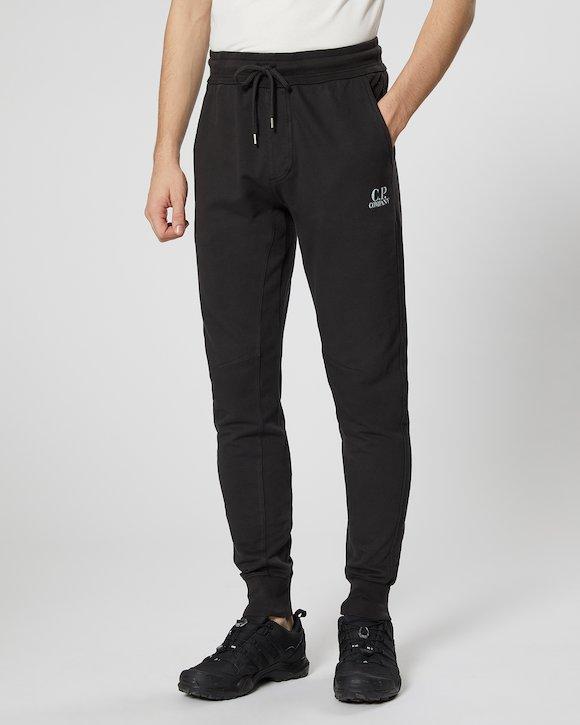 Garment Dyed Light Fleece Sweatpants in Grey Melange