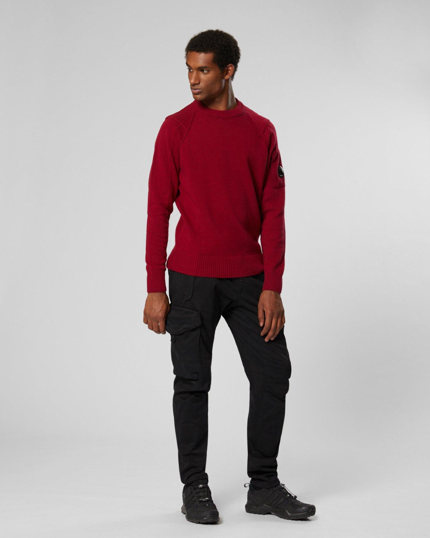 Lambswool Crew Neck Sweater