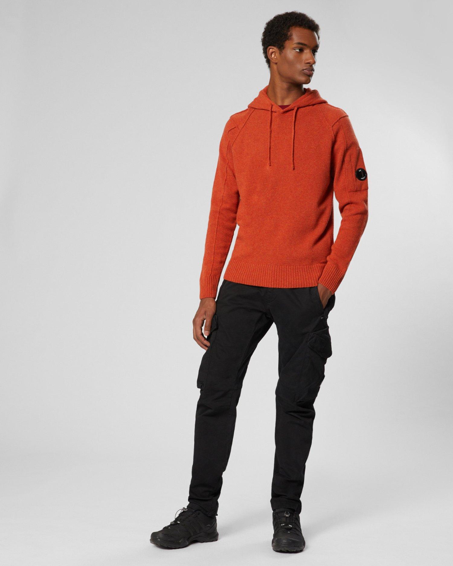 Lambswool Hooded Sweatshirt