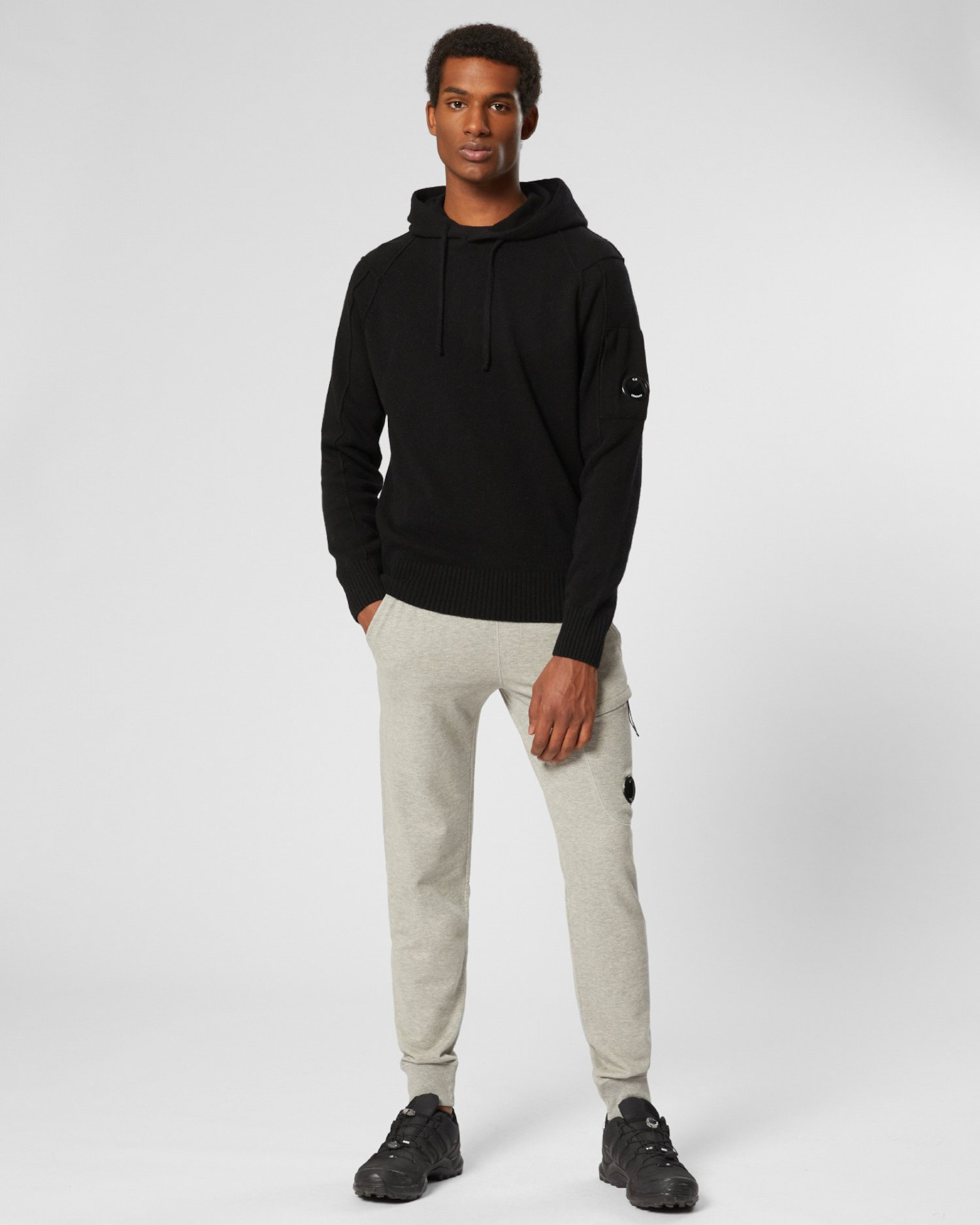 Lambswool Hooded Sweatshirt