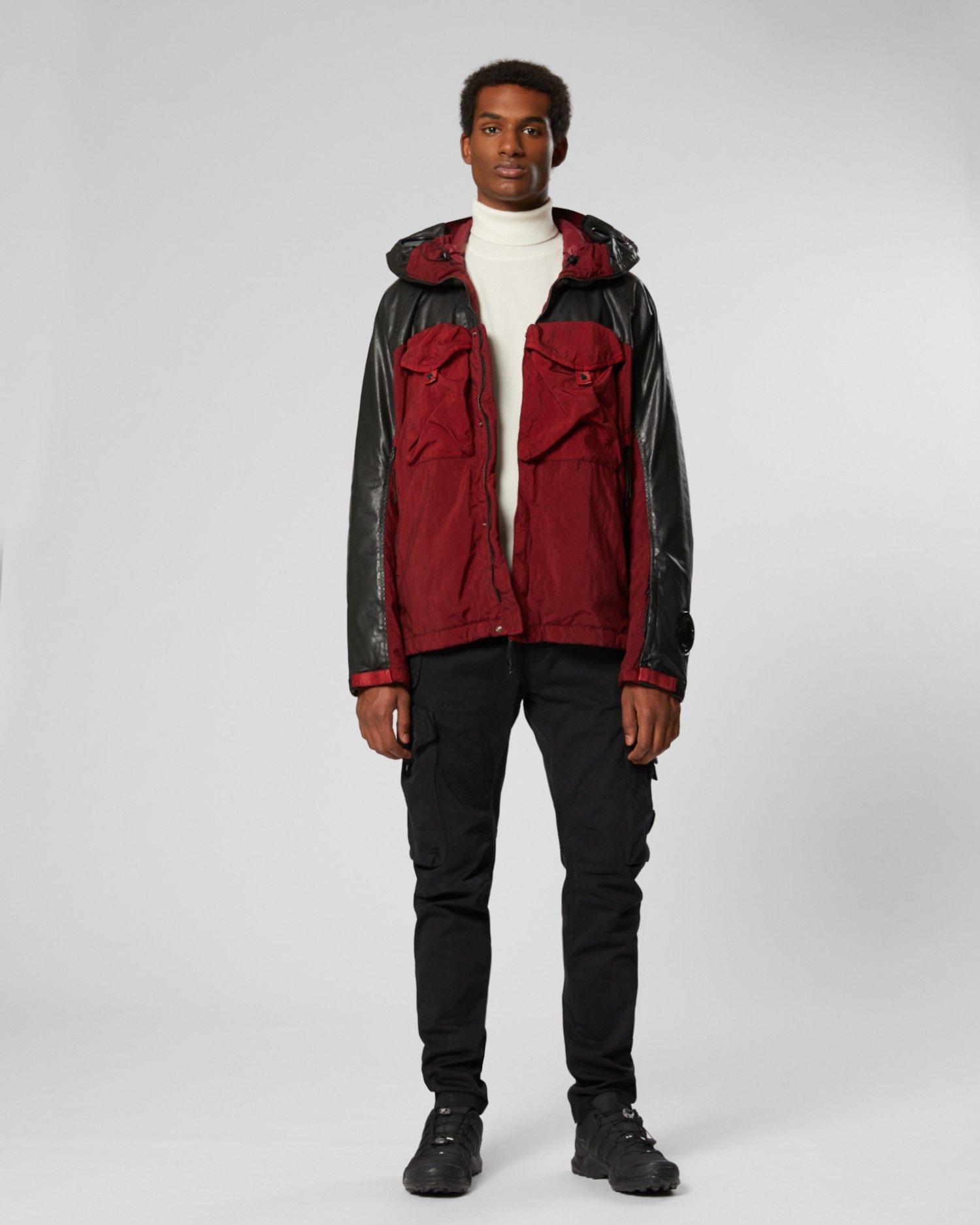 Quartz Contrast Full Zip Goggle Jacket