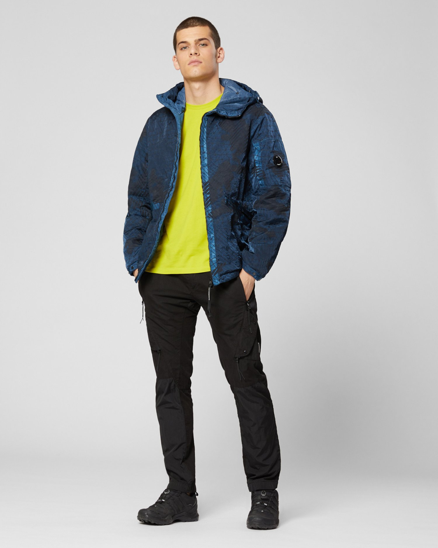 M-Bossed Mid-Length Jacket