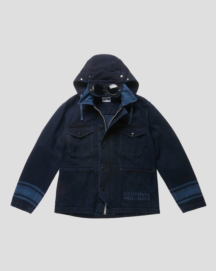 Denim 14 3/4 OZ Work Jacket in Blue Denim