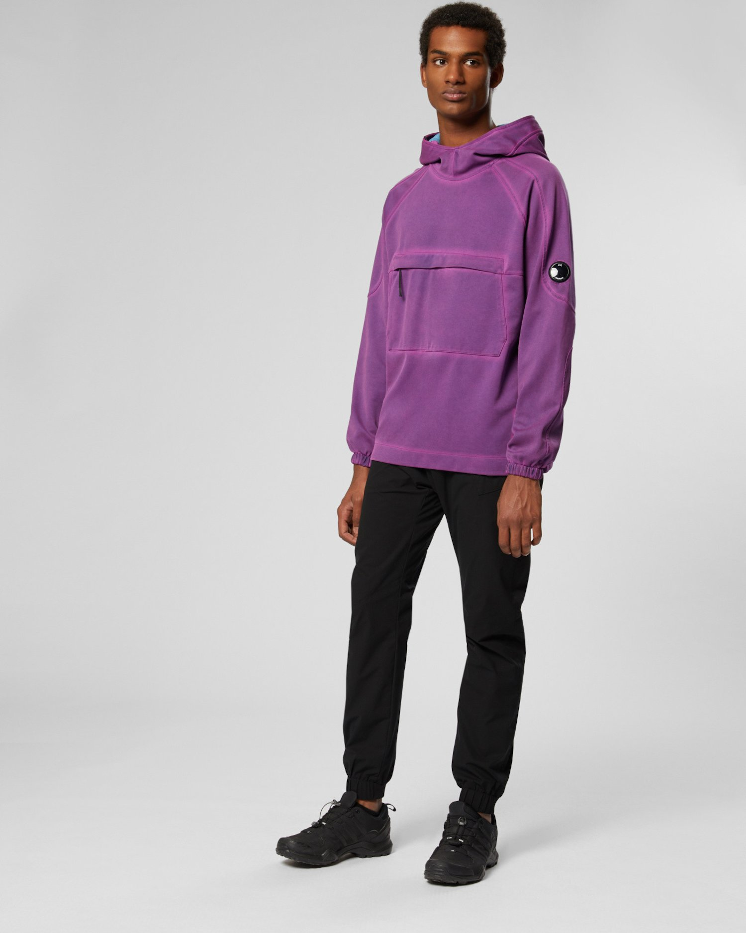 Re-Colour II Fluo Fleece Hooded Lens Sweat