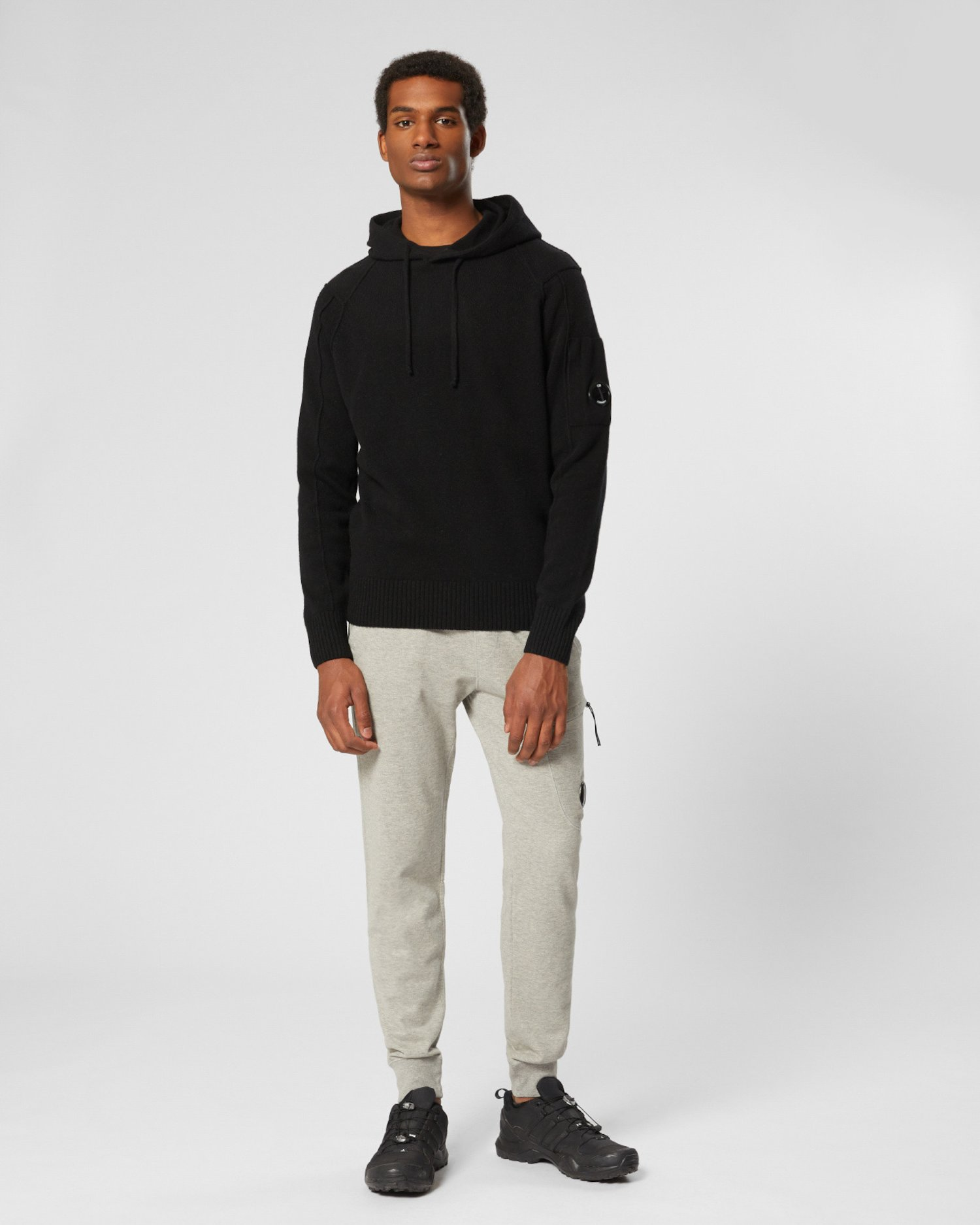 Garment Dyed Light Fleece Lens Pocket Sweatpants